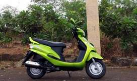 Less running scooty, well maintained and in working condition