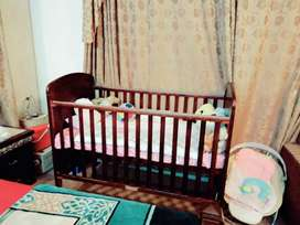 Baby Cot  Come Bed