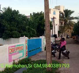 CMDA APPROVED PLOTS IN PORUR NEAR KOVUR
