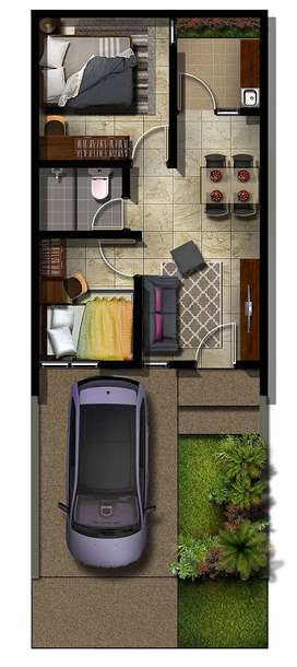 Dijual Rumah Paling murah komersil tangerang ,dp 18x