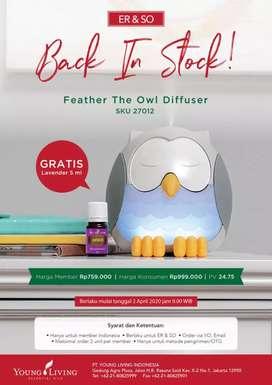 Diffuser owl free lavender