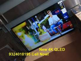 "Flat 30% OFF on 50"" QLED full UHD New Box Pack LED with warranty."