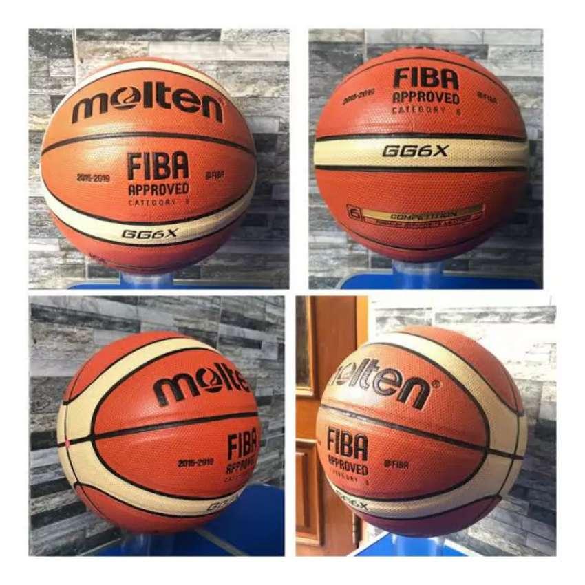 Bola basket molten GG6X semi kulit 0