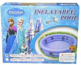 Kolam Frozen Diameter 110Cm + Tambalan Lem Renag Anak
