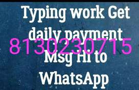 Want to do some work from home and earn money