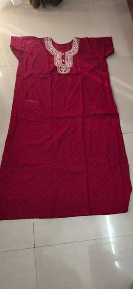 Brand new Designer Cotton Maxi/gown with pocket