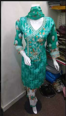 Ladies Shirts and ladies suits shalwar qameez stitching units & CMT
