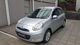 KM 51.000 Nissan March 1.2 MT Manual 2011 Silver ASTINA MOBIL