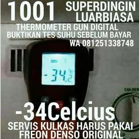 Tes Suhu KulKas -34Celcius Buktikan KulKas SuperDingin LuarBiasa