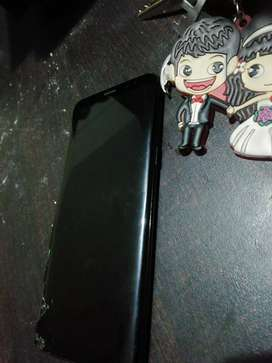 Samsung s8 for sell jst side glass broke