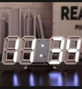 Jam LED nomor dinding /meja
