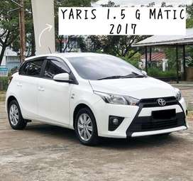 TOYOTA YARIS G AT 2017