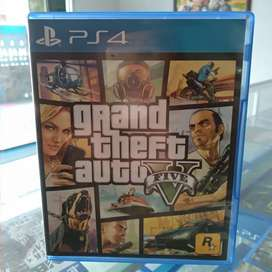 Game GTA V PS4 Second Mulus likenew
