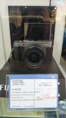 Kamera FujiFilm X-A5 DS bisa cicil dp ringan proses cepat