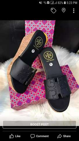 Branded slippers available