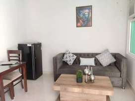 1bhk Fully Furnished flat available on rent