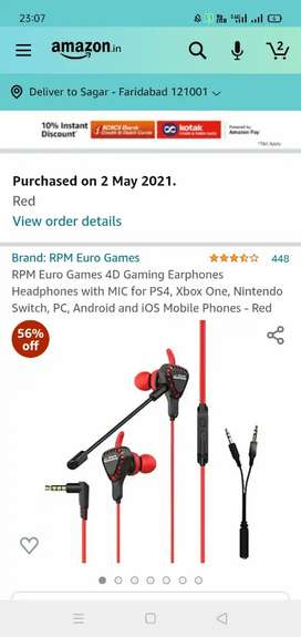 Best quality earphone with mic
