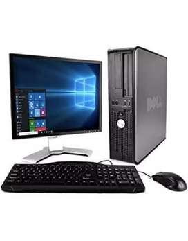 Cor i3 4gb ram 500gb hardisk LCD keyboard mouse full pc