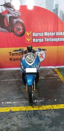 Yamaha Fino Biru