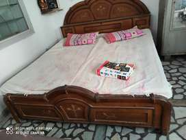 Double Bed box with Mattresses
