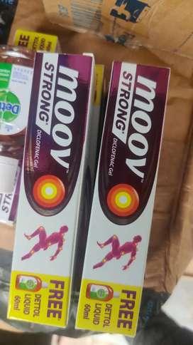 Selling moov strong gel 125 gm