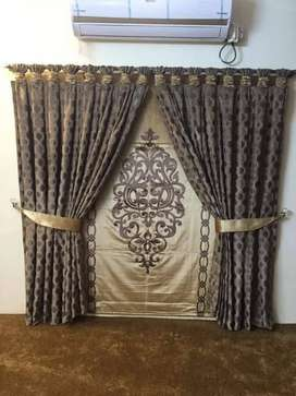 All kinds of curtains available