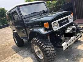 Toyota land crusier tahun 1980, jeep clasik, orginal, ban 35 inch,