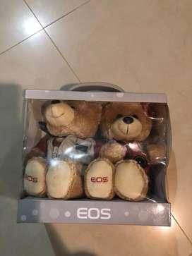 Boneka eos couple bear limited
