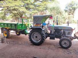 Tractor for rent with trailer all & Daily and monthly also available