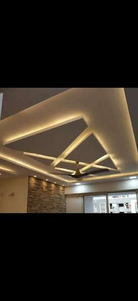 Gypsum false ceiling for offices, home,  and halls