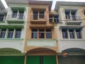 Dijual ruko dua lantai di pinggir jalan gulama- nangka