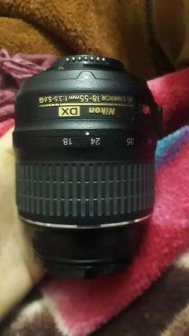 Nikon lense 18,55