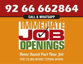 Easy simple Typing Work From Home.Earn highest income