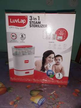 Luvlap 3in1 steriliser for baby bottles and accessories