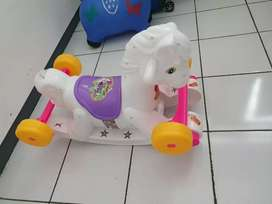 Mainan kuda goyang rocking chair