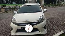 Toyota Agya TRD sportivo putih matic