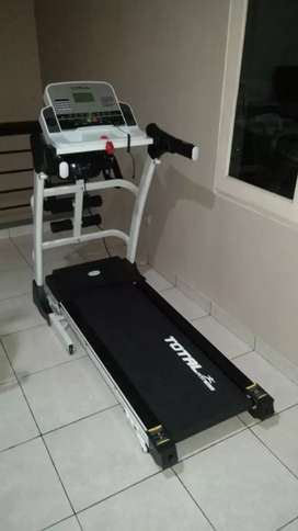 TL 630 auto Incline Treadmill elektrik white