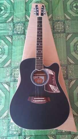 Gitar akustik cole clark jumbo