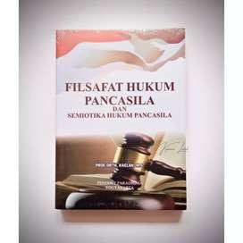 Buku FILSAFAT HUKUM PANCASILA DAN SEMIOTIKA HUKUM PANCASILA
