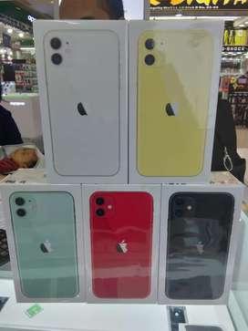 Iphone 11 64gb bisa di cash & kredit free 1x cclan dp 2jtan di Qstore