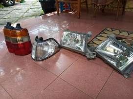 jual lampu satu set kijang lgx