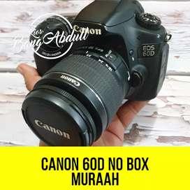 Canon 60D murah sekali