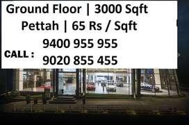 3000 Sqft Ground Floor | 65 Rs per Sqft | Pettah
