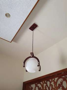 4 Ceiling globe lights