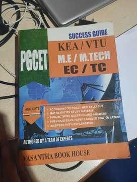 K-PGCET EC/TC VASANTH BOOK HOUSE