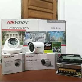 paket kamera ekonomis cctv 4 ch turbo hd  2omp/Rawalumbu Naga digital