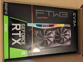 EVGA GeForce RTX 3080 FTW3 ULTRA 10GB GDDR6X Graphics Card - New Seale