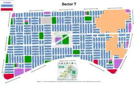 DHA Multan,Plot Available For Sale In Sector T