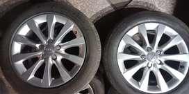 "17"" Genuine Audi A6 Alloy wheel"