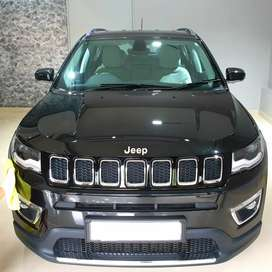 Jeep Compass Limited 4x4 black with Ceramic pro paint protection